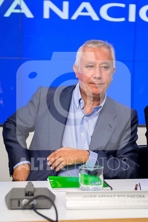 National deputy secretary, Javier Arenas during the meeting of the National Executive Committee of the Partido Popular (PP) in Madrid, Spain, November 05, 2015. <br /> (ALTERPHOTOS/BorjaB.Hojas)