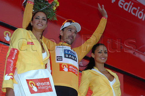 5th September 2009, Vuelta a Espana, stage 07 - Valencia, Saxo Bank, Cancellara Fabian, Valencia circuito F1. Photo: Stefano Sirotti/ActionPlus.