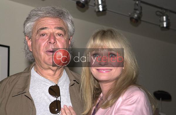 Richard Donner and Valerie Perrine
