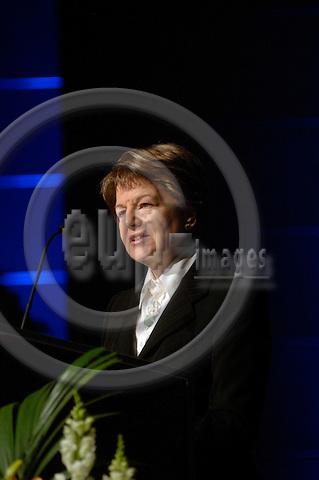 GENEVA - SWITZERLAND 11. 10. 2006 -- The World of Health IT. Baroness Emma Nicholson, Member of the European Parliament. -- PHOTO: GORM K. GAARE / EUP- IMAGES ...