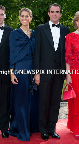 "PRINCE NIKOLAOS and TATIANA BLATNIK.Pre-Wedding Dinner hosted by the Government of Sweden in honour of H.R.H Crown Princess Victoria and Mr Daniel Westling at Eric Ericsonhallen was attended by Royalty from all over the world. Stockholm_18/06/2010..Mandatory Photo Credit: ©Dias/Newspix International..**ALL FEES PAYABLE TO: ""NEWSPIX INTERNATIONAL""**..PHOTO CREDIT MANDATORY!!: NEWSPIX INTERNATIONAL(Failure to credit will incur a surcharge of 100% of reproduction fees)..IMMEDIATE CONFIRMATION OF USAGE REQUIRED:.Newspix International, 31 Chinnery Hill, Bishop's Stortford, ENGLAND CM23 3PS.Tel:+441279 324672  ; Fax: +441279656877.Mobile:  0777568 1153.e-mail: info@newspixinternational.co.uk"