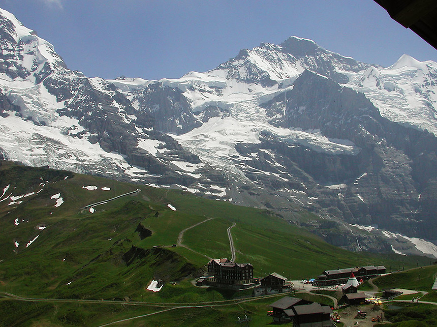 Kleine-Scheidegg, Switzerland, Alps. Ernie Mastroianni photo