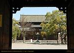 Minami Daimon South Gate, Kondo Golden Hall, Toji East Temple, Kyoto, Japan