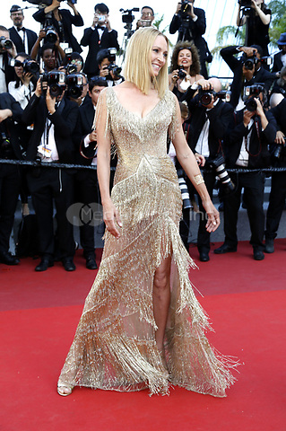 Uma Thurman attending the closing-night of the 70th Cannes Film Festival at the Palais des Festivals on May 28, 2017in Cannes, France | Verwendung weltweit/picture alliance /MediaPunch ***FOR USA ONLY***