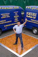 Gary Gibbs of Portable Floormaker Ltd