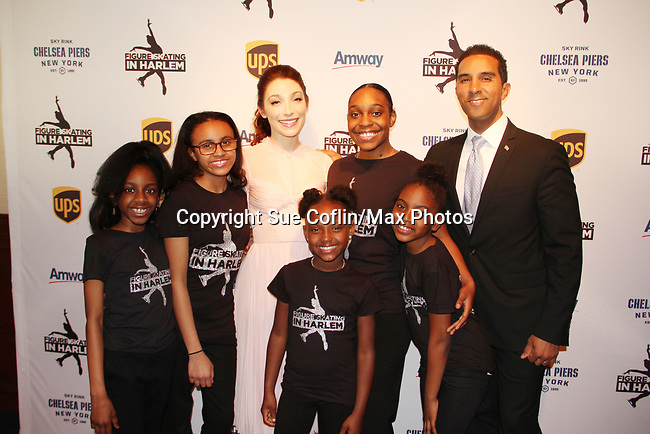 Meryl Davis & Harlem Skaters - Figure Skating in Harlem presents Champions in Life Benefit Gala on April 29, 2019 at Chelsea Pier, New York City, New York - (Photo by Sue Coflin/Max Photos)