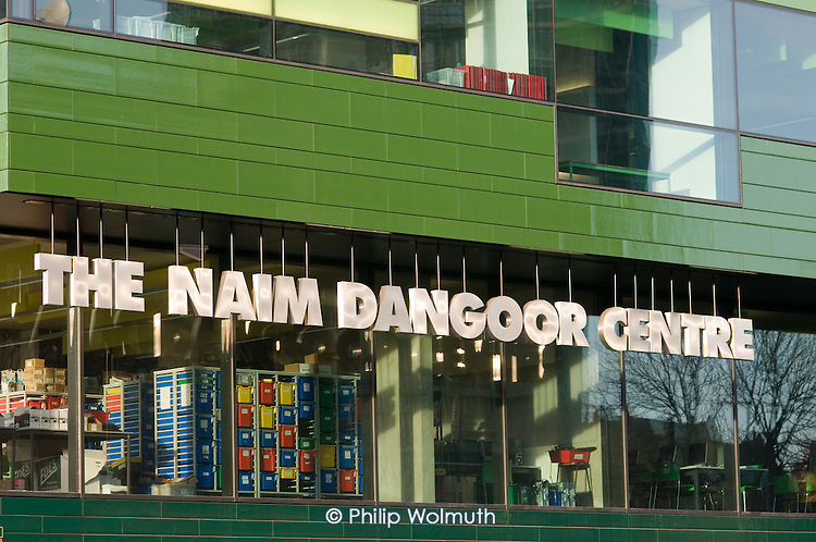 The Naim Dangoor Centre, part of the Westminster Academy, one of the controversial City Academy secondary schools.