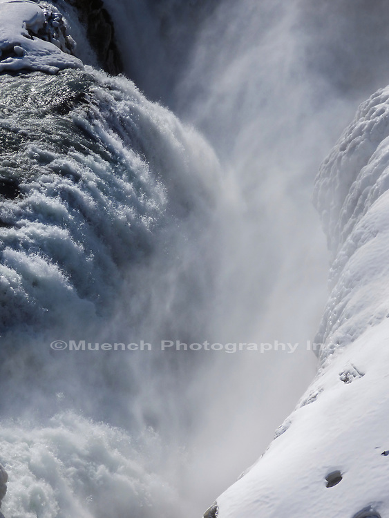 Gullfoss,Golden Falls,Hvita River,Iceland