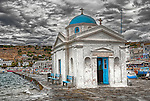One of the many churches on the island of Mykonos, Greece