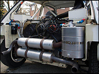 BNPS.co.uk (01202 558833)<br /> Pic: Silverstone/BNPS<br /> <br /> 250hp V6 engine was crammed into the tiny Metro body.<br /> <br /> Road legal rally legend 6R4 Metro - Yours for &pound;200,000.<br /> <br /> Mega Bucks for Mini Metro <br /> <br /> They may have had a reputation as a naff hatchback in the 1980s but a time warp rally version of the Mini Metro has emerged for sale for a staggering &pound;200,000.<br /> <br /> The MG Metro 6R4 model was built in 1985 and has done just 175 miles in its lifetime.<br /> <br /> It has spent time in several esteemed motoring collections and is now set to sell once again with Silverstone Auctions of Ashorne, Warwicks.