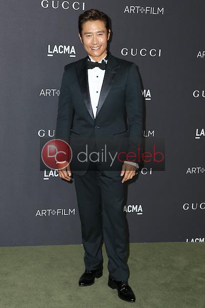Lee Byung-hun<br /> at the 2016 LACMA Art +  Film Gala, LACMA, Los Angeles, CA 10-29-16<br /> David Edwards/DailyCeleb.com 818-249-4998