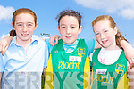 Bronagh Finnegan, Aisling O'Connell and Ciara Walsh An Riocht at the Juvenile Athletic Championships in Castleisland on Sunday      Copyright Kerry's Eye 2008