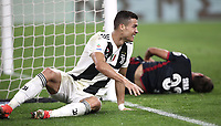 Calcio, Serie A: Juventus - Caglairi, Turin, Allianz Stadium, November 3, 2018.<br /> Juventus' Cristiano Ronaldo reacts during the Italian Serie A football match between Juventus and Cagliari at Torino's Allianz stadium, November 3, 2018.<br /> UPDATE IMAGES PRESS/Isabella Bonotto