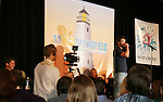 Daniel Cosgrove raps for fans -  So Long Springfield event brought out Guiding Light Actors as they  came to see fans at the Hyatt Regency in Pittsburgh, PA. for Q & A, acting scenes between actors and fans, and entertainment (singing) by GL finest during the weekend of October 24 and 25, 2009. (Photo by Sue Coflin/Max Photos)