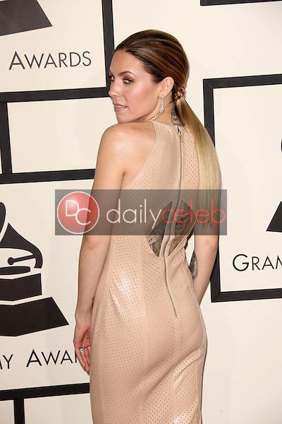 Skylar Grey<br /> at the 56th Annual Grammy Awards, Staples Center, Los Angeles, CA 01-26-14<br /> David Edwards/Dailyceleb.com 818-249-4998