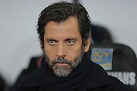 Watford manager Quinque Sanchez Flores during the Barclays Premier League match between Swansea City and Watford at the Liberty Stadium, Swansea on January 18 2016