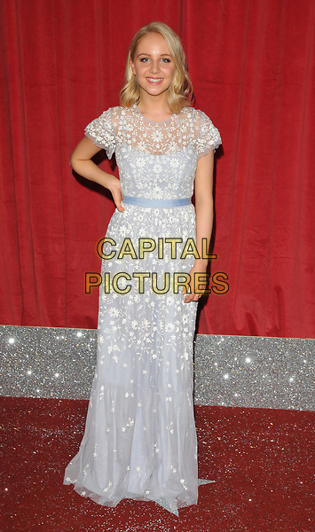 Eden Taylor-Draper at the British Soap Awards 2017, The Lowry Theatre, Pier 8, Salford Quays, Salford, Manchester, England, UK, on Saturday 03 June 2017.<br /> CAP/CAN<br /> &copy;CAN/Capital Pictures