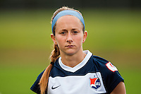Sky Blue FC midfielder Manya Makoski (22). Sky Blue FC defeated the Seattle Reign FC 2-0 during a National Women's Soccer League (NWSL) match at Yurcak Field in Piscataway, NJ, on May 11, 2013.