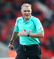 Referee Graham Scott<br /> <br /> Photographer Mick Walker/CameraSport<br /> <br /> The EFL Sky Bet League One - Doncaster Rovers v Rotherham United - Saturday 11th November 2017 - Keepmoat Stadium - Doncaster<br /> <br /> World Copyright &copy; 2017 CameraSport. All rights reserved. 43 Linden Ave. Countesthorpe. Leicester. England. LE8 5PG - Tel: +44 (0) 116 277 4147 - admin@camerasport.com - www.camerasport.com