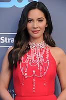 11 January 2018 - Santa Monica, California - Olivia Munn. 23rd Annual Critics' Choice Awards held at Barker Hangar. <br /> CAP/ADM/BT<br /> &copy;BT/ADM/Capital Pictures