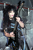 NEW YORK CITY, NY JANUARY 30: Mick Mars of Motley Crue performs at Madison Square Garden on on January 30, 1984 in New York City, New York.  photo by Larry Marano (C) 1984.