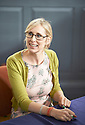 Lauren Child Children's  writer at Oxford Literary Festival  at Sheldonian Theatre Oxford  2014 CREDIT Geraint Lewis