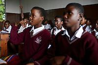 TANZANIA Zanzibar, Stone town, Francis Maria Libermann college of catholic church / TANSANIA Insel Sansibar, Stonetown, Francis Maria Libermann Schule der katholische Kirche