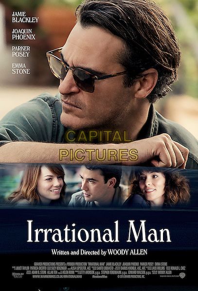 Irrational Man (2015) <br /> POSTER ART<br /> *Filmstill - Editorial Use Only*<br /> CAP/KFS<br /> Image supplied by Capital Pictures
