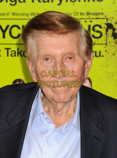 "Sumner Redstone.""Seven Psychopaths"" Los Angeles Premiere held at the Bruin Theatre, Westwood, California, USA..October 1st, 2012.headshot portrait black blue suit shirt.CAP/ROT/TM.© TM/Roth/Capital Pictures"