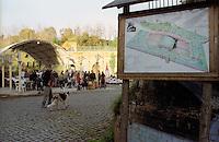 Roma.Centro sociale occupato Forte Prenestino