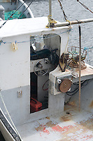 Fishing boat wheel house