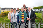 Young and old are preparing to celebrate the traditional Ballinskelligs Pattern next weekend. .Front L-R Joan King, Bernice Casey and  Michael Curran .Back L-R Janette Murphy, Nora Barry, Bridie O'Shea and Michael Fogarty. .