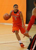 April 9, 2011 - Hampton, VA. USA;   James Robinson participates in the 2011 Elite Youth Basketball League at the Boo Williams Sports Complex. Photo/Andrew Shurtleff