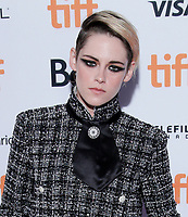"TORONTO, ONTARIO - SEPTEMBER 07: Kristen Stewart attends the ""Seberg"" premiere during the 2019 Toronto International Film Festival at Ryerson Theatre on September 07, 2019 in Toronto, Canada.    <br /> CAP/MPI/IS<br /> ©IS/MPI/Capital Pictures"
