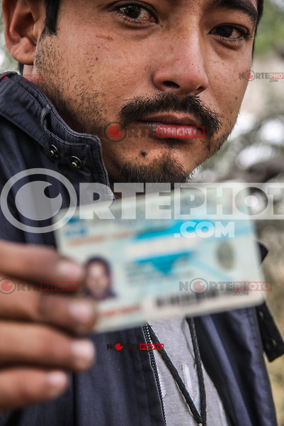 Migrants passing through Hermosillo, capital of Sonora Mexico. Photo: LuisGutierrez/NORTEPHOTO.COM<br /> Migrantes en su paso por Hermosillo, capital de Sonora Mexico.