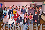 BIRTHDAY: Maurice ODriscoll of Causeway (seated centre), celebrated his 21st birthday at Hartys Bar, Causeway, on Friday night last, where he partied the night away in the company of family and friends..