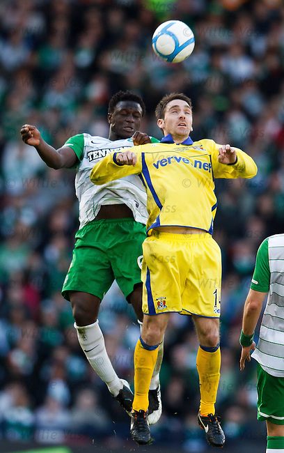 Victor Wanyama and Paul Heffernan