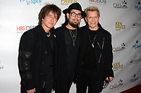 HOLLYWOOD, CA - NOVEMBER 8: Billy Morrison, Dave Navarro, Billy Idol at the Pop-Up Art Show by Billy Morrison and Steve Stevens at Ken Paves Salon in West Hollywood, California on November 8, 2019. Credit: David Edwards/MediaPunch