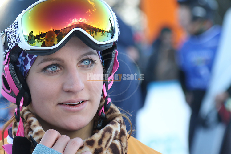 Snowboard World Cup 2018 FIS in Carezza, on December 14, 2017; Parallel Giant Slalom; Ramona Hofmeister (GER)
