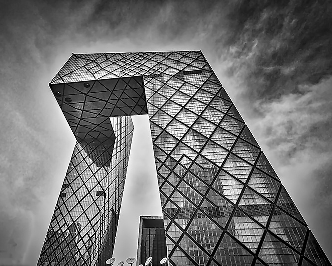 Beijing China Central Television Headquarters (CCTV HQ).