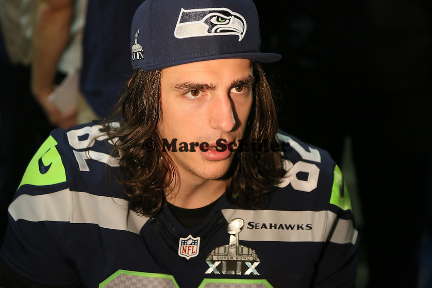 TE Luke Wilson (Seahawks)- Super Bowl XLIX Seattle Seahakws Team-PK, Arizona Grand Hotel