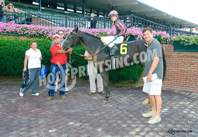 Faithful Servant winning at Delaware Park on 8/11/15