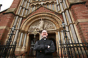 Father Eugene O'Neill outside St Patrick's Donegall Street, Belfast, Tuesday June 25th, 2019. (Photo by Paul McErlane for the Belfast Telegraph)
