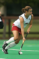 STANFORD, CA - AUGUST 19:  Rachel Mozenter of the Stanford Cardinal during Stanford's 4-1 exhibition win over the University of the Pacific on August 19, 2008 at the Varsity Field Turf in Stanford, California.
