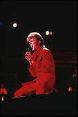 DAVID BOWIE - performing live on the Glass Spider Tour at the Parc Departmental de La Courneuve in Paris France - 03  Jul 1987.  Photo credit: Guy Ferrandis/Dalle/IconciPix