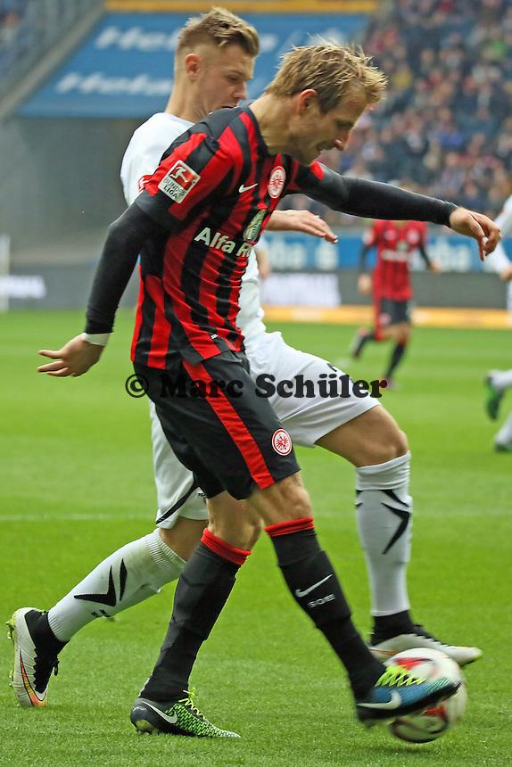 Stefan Aigner (Eintracht) zieht ab - Eintracht Frankfurt vs. SC Paderborn 07, Commerzbank Arena