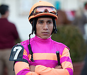 Former Eclipse-award-winning apprentice rider Paco Lopez was aboard George and Lori Hall's Vegas No Show in the Jerome for trainer Kelly Breen.