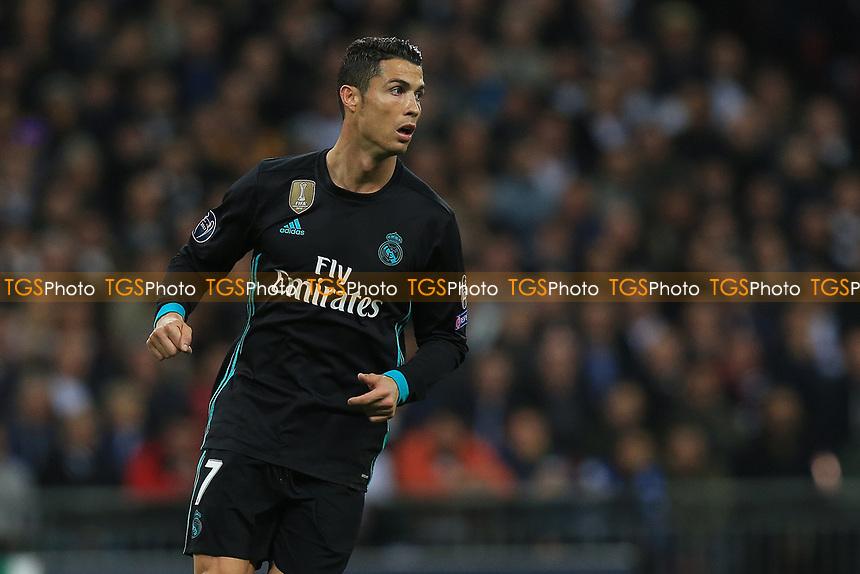 Cristiano Ronaldo of Real Madrid during Tottenham Hotspur vs Real Madrid, UEFA Champions League Football at Wembley Stadium on 1st November 2017