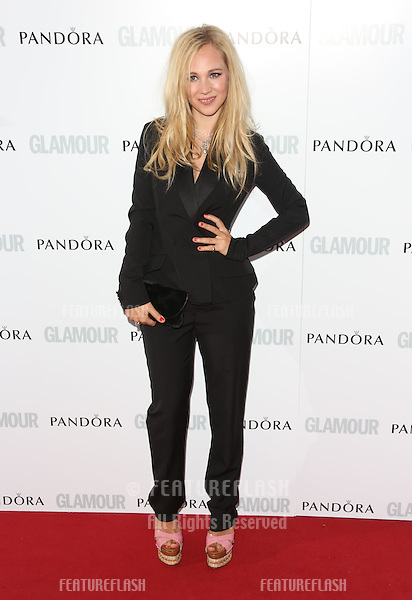 Juno Temple arriving for the 013 Glamour Women of The Year Awards, Berkeley Square, London. Picture by: Henry Harris / Featureflash
