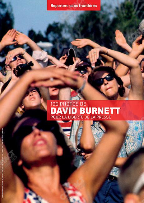 100 Photo de David Burnett, Pour la Liberté de la Presse, Reporters sans frontières, 2010